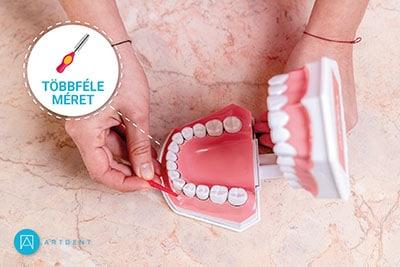 A fogközkefe többdéle mérete